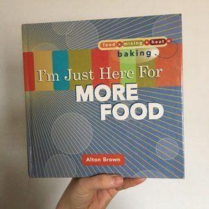 Alton Brown Cook Book NEW